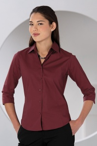 Damesblouse Russell Tailored stretch 3/4 KM